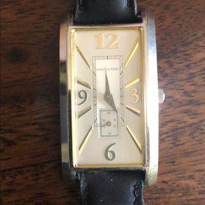 Men's vintage Hamilton watch